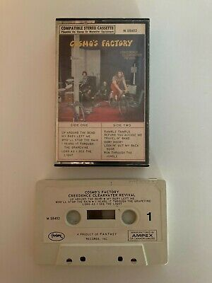 £1.15 • Buy CCR CREEDENCE CLEARWATER REVIVAL Cosmo's Factory CASSETTE