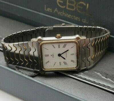 £350 • Buy Ebel Classic Wave Ladies Watch With 18ct Gold Bezel Boxed