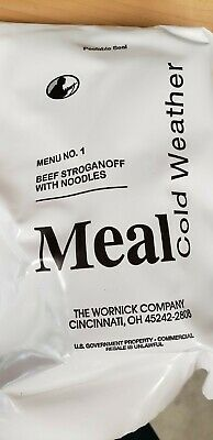 $95 • Buy 6 Meals, Cold Weather, Military Ration, MRE, New, Packed 9/2017 - 5/2018