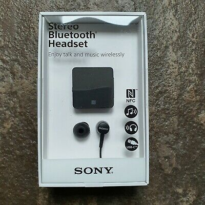 £22.99 • Buy Sony SBH24 Stereo Bluetooth Headset - Clip On Lightweight Hands Free Brand New 2