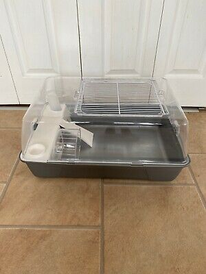 £13 • Buy Plastic Dwarf Hamster Mice Mouse Home Cage Grey Wheel Food Bowl Bootle Ladder