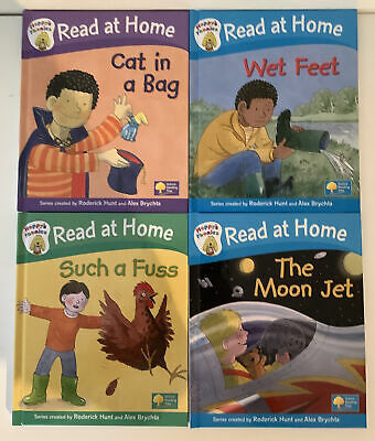 £6.99 • Buy Read At Home Phonics Books - Set Of 4 - Oxford Reading Tree