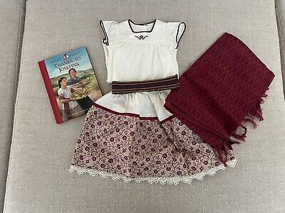 £36 • Buy American Girl Doll Josefina Outfit With Matching Short Story