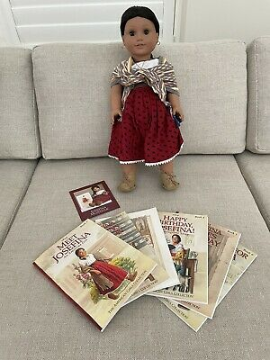 £65 • Buy American Girl Doll Josefina With Full Set Of Character Books