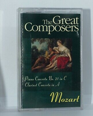 £1.90 • Buy The Great Composers Mozart Cassette Tape