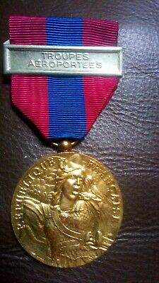 £15 • Buy French Foreign Legion 2rep 5 Year Service Defence Of The Nation Medal With...