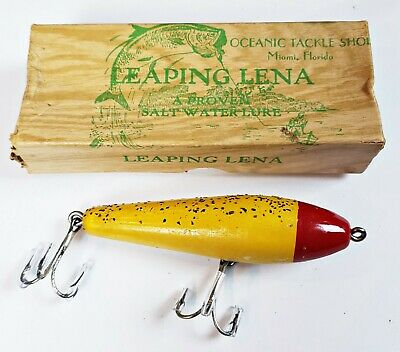 $41 • Buy Tough Ralph Miller Oceanic Tackle #311 Leaping Lena Lure In Correct Box
