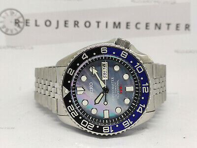 $ CDN0.01 • Buy Seiko Mother Of Pearl Marine Master Mod 7s26-0020 Skx007 Automatic Watch 890151