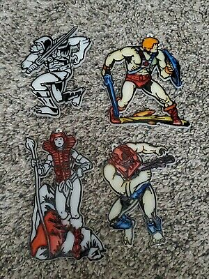 $20 • Buy Vintage Masters Of The Universe He-Man Sun Catchers Lot Of 4