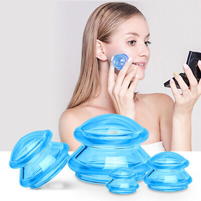 £10.15 • Buy Vacuum Suction Cup Set Anti Cellulite Jar Deep Tissue Facial Cupping Relaxat /A