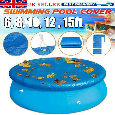 £15.35 • Buy Solar Pool Cover For 6,8,10, 12 ,15ft Inflatable Fast Set Paddling Swimming Pool