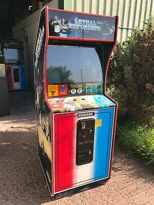 £200 • Buy Lethal Enforcers Arcade Machine - PROJECT - Games Room Man Cave #1