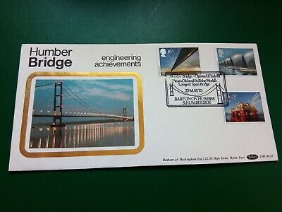 £0.99 • Buy 1983 GB First Day Cover / FDC - British Engineering - Humber Bridge