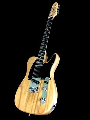 $ CDN201.42 • Buy New Tele Style Natural Concert 12 String Solid Electric Guitar