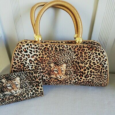 £8 • Buy Butler And Wilson Leopard Print Bag And Purse