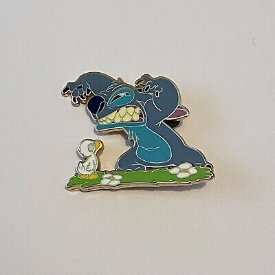 £7.50 • Buy DLP - Stitch And Duck - Today I Feel Mean - Disney Pin