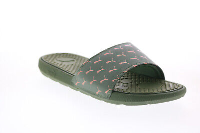 AU57.99 • Buy Puma Cool Cat Bold 2 37534403 Womens Green Synthetic Slides Sandals Shoes 10