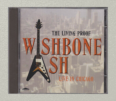 £2.99 • Buy WISHBONE ASH - The Living Proof - Live In Chicago - CD