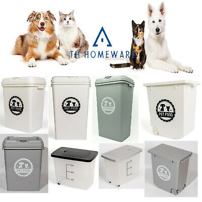 £19.95 • Buy Prime Paws® Pet Food Dry Feed Container Animal Cat Dog  Storage  Bin Box New