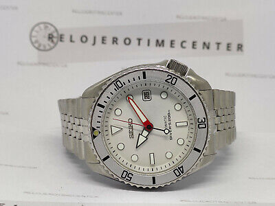 $ CDN68.66 • Buy Seiko Diver Automatic Mens Watch 7002-700j White Submariner Modded 160214