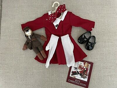 £25 • Buy American Girl Doll Kit Christmas Outfit With Doll
