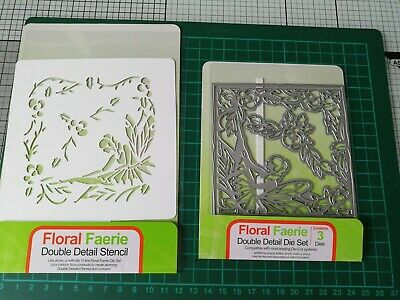 £2.50 • Buy Tonic Floral Faerie Metal Cutting Die And Stencil.