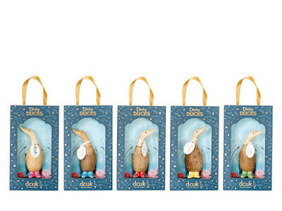 £14.99 • Buy DCUK Dinky Ducks With Painted Spotty Welly Boots And Name Tags,  Boxed, 11cm