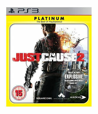 £0.99 • Buy Just Cause 2 -- Platinum Edition (Sony PlayStation 3, 2010)