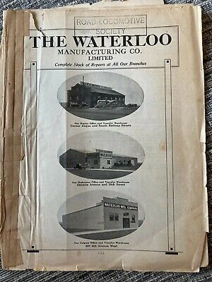 £25 • Buy The Waterloo Manufacturing Farm Machinery Repaired Catalog. 1920s Very Rare.