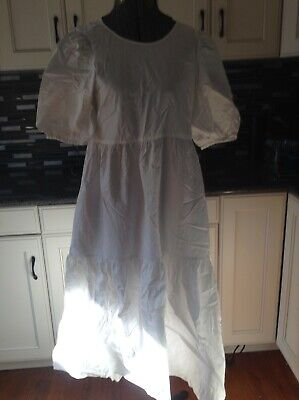 $7.99 • Buy ZARA  Join Life Oversized DRESS White SIZE XS 100% Cotton  New With Tags $49.90