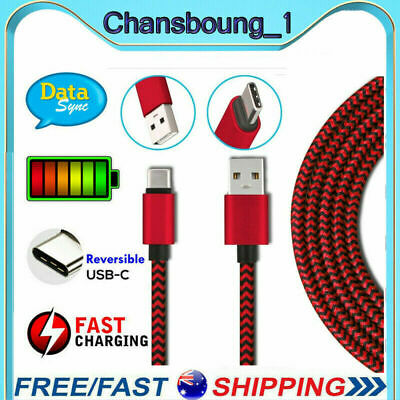 AU4.98 • Buy Fast Charging USB Type C Charger Cable For Samsung Galaxy S8 S9 S10e S10 Plus AU