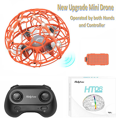 £3.40 • Buy Mini Drone Hand Operated UFO Levitation LED RC Helicopter Flying Toys For Kids