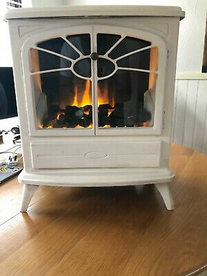 £15.70 • Buy 2000W Electric Fireplace Heater Fire Place Modern Log Burning Effect Stove White