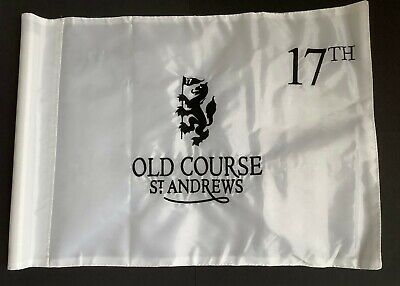£9.99 • Buy St Andrews Pin Flag Fully Embroidered Rare Flag With Tube