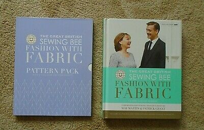 £19.99 • Buy The Great British Sewing Bee Fashion With Fabric Book + Patterns, New 2nd Series