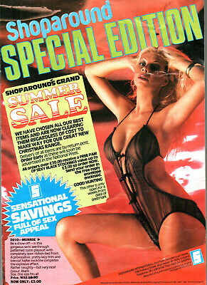 $6.88 • Buy SHOPAROUND SPECIAL EDITION 1981:Exotic Lingerie,Glamourwear Catalogue