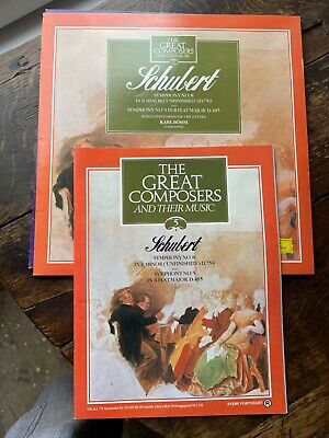 £2.50 • Buy Schubert - The Great Composers 5 Symphony No 8 In B Minor (unfinished) Vinyl Lp