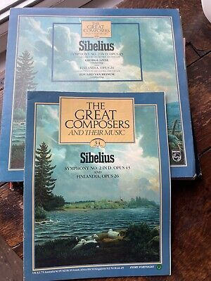 £2.50 • Buy Sibelius - Symphony No 2/Finlandia. George Szell. The Great Composers No 34.