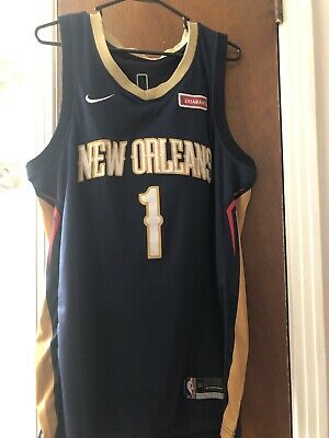 $26 • Buy New Orleans Pelicans Zion Williamson Nike Men's Jersey Large Stitched