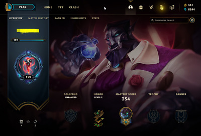 £10.82 • Buy League Of Legends Account | LoL Acc | NA | Unranked | 121 Champ 46 Skins