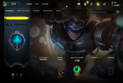 £10.82 • Buy League Of Legends Account | LoL Acc | NA | Unranked | 110 Champ 52 Skins