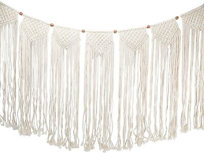 $19.99 • Buy HYDDNice Large Macrame Wall Hanging Tapestry, Bohemian Woven Wall  Curtain