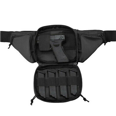 $20.98 • Buy Tactical Fanny Pack Holster Concealed Carry Pistol Gun Pouch Military Waist Bag