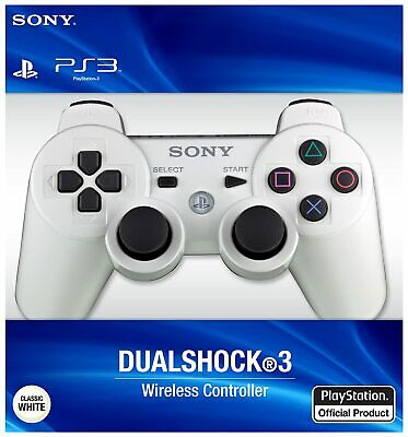 £13.99 • Buy PS3 Controller PlayStation3 DualShock3 Wireless SixAxis Controller GamePad White