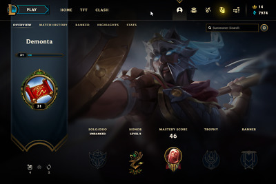 £10.82 • Buy League Of Legends Account | LoL Acc | NA | Unranked | 111 Champ 49 Skins