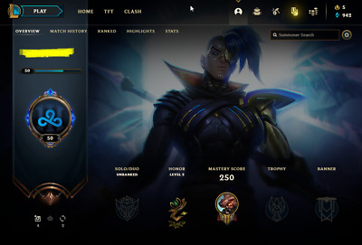 £28.12 • Buy League Of Legends Account | LoL Acc | NA | Unranked | 146 Champ 220 Skins