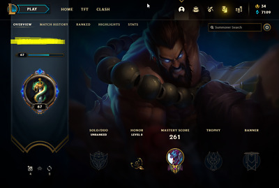 £20.91 • Buy League Of Legends Account | LoL Acc | NA | Unranked | 147 Champ 164 Skins