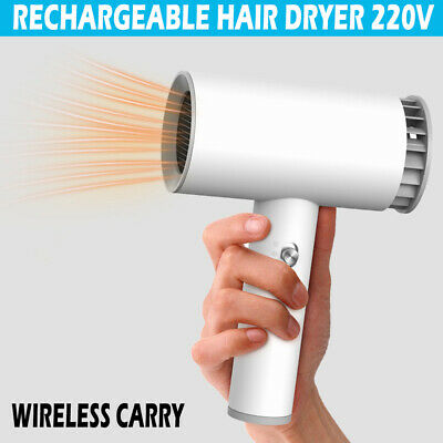 £24.89 • Buy 2021 Portable Wireless Cordless Hair Dryer Styler Blower Blow Dryer Rechargeable