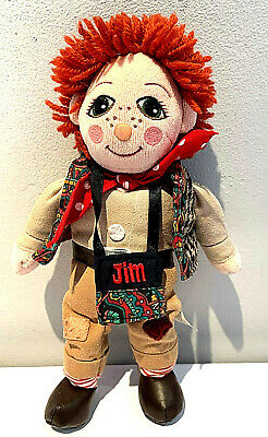 £24.99 • Buy  Very Rare Vintage Jim Rag Doll From Rosie & Jim By Born To Play 1999 Vgc.