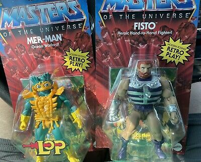 $63.99 • Buy NEW WAVE Mer-Man & Fisto Masters Of The Universe Origins Lords Of Power MOTU  🔥